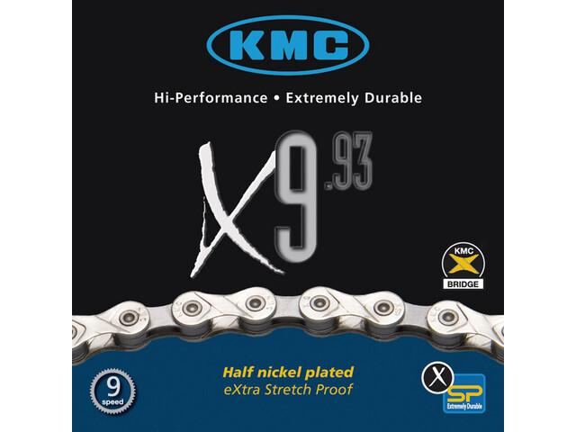 KMC X-9-93 Kette silver/grey